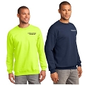 Kimberly Clark Crew Neck Sweatshirt Mens/Unisex