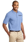Kimberly Clark Polo Shirt 100% Light Blue Mens/Unisex