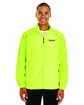Kimberly Clark Full Zip Unlined Safety Yellow Jacket Mens/Unisex