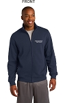 Kimberly Clark Full Zip Sweatshirt Navy Mens/Unisex