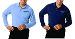 Kimberly Clark Polo Long Sleeve 60/40 Blend Mens/Unisex