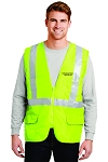 Kimberly Clark Safety Vest Safety Yellow Mens/Unisex