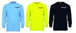 Kimberly Clark T-Shirt Long Sleeve Moisture Wick Mens/Unisex