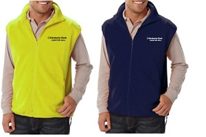 Kimberly Clark Polar Fleece Vest Mens/Unisex