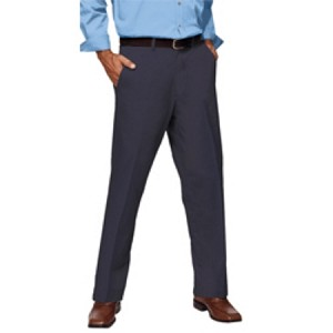 Kimberly Clark Flat Front Pants Navy Mens