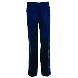 Kimberly Clark Flat Front Pants Navy Womens