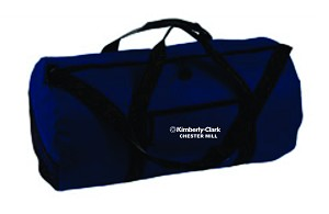 Kimberly Clark Duffle Bag Navy